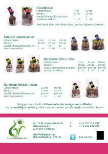 Brochure 'Unieke transparante cilinders'