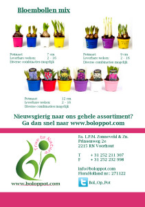 Brochure 'Bol op Pot 2013 / 2014'