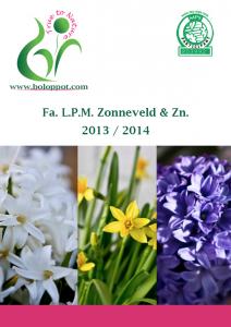 Brochure bol op pot seizoen 2013 / 2014