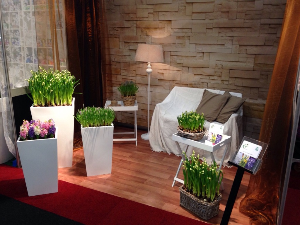 Standinrichting FloraHolland Trade Fair 2014